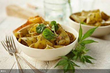Recipe: Vegetable pesto pasta - The Times of India | My Vegan recipes | Scoop.it