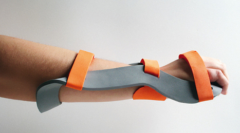 Tension - Orthotic Brace by Marina Scheinberg » Yanko Design | shubush healthwear | Scoop.it