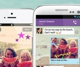 Messaging and VoIP app Viber gets playful with its new 'doodle' feature for Android | The Social Revolution | Scoop.it