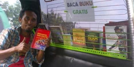 Kisah Sopir Angkot yang Menyulap Mobilnya Jadi Perpustakaan - Kompas.com | Agent of Change | Scoop.it