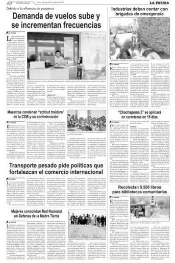 Industrias deben contar con brigadas de emergencia - La Patria (Bolivia) | Seguridad Industrial | Scoop.it