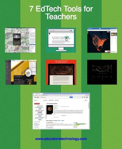 8 New EdTech Tools for Teachers ~ Educational Technology and Mobile Learning | Keeping up with Ed Tech | Scoop.it