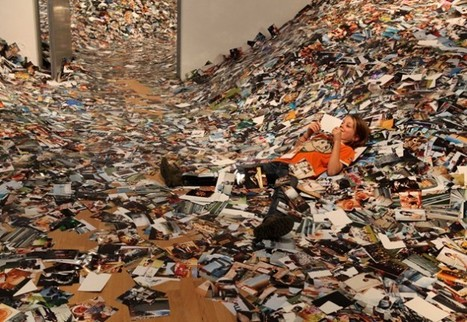 24 hours of Flickr photos printed to fill a room   Organic SEO   Scoop.it