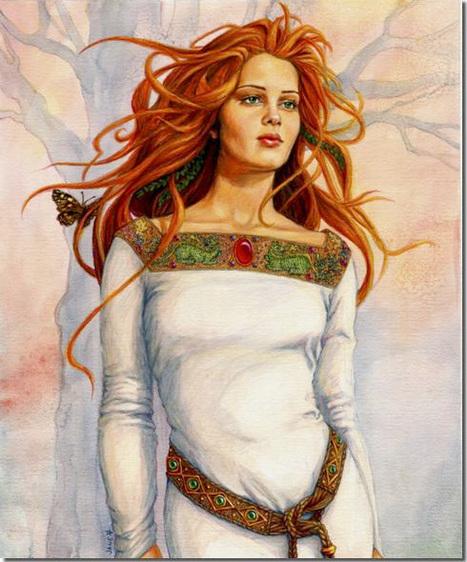 Rhiannon, Riannon | Faces of the Goddess | Scoop.it