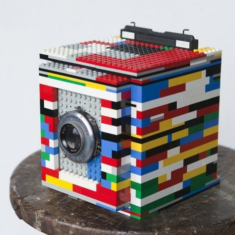 Fully Working 4×5 Camera Made Of LEGO Bricks | Photography Gear News | Scoop.it