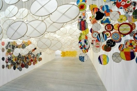 From the Archives – Jacob Hashimoto: The Other Sun | abstract art | Scoop.it