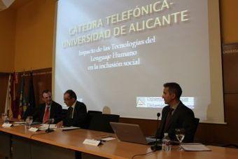 Telefónica y la Universidad de Alicante crean una Cátedra para propiciar la inclusión con tecnologías del lenguaje humano | Blog RC y Sostenibilidad | ADI! | Scoop.it