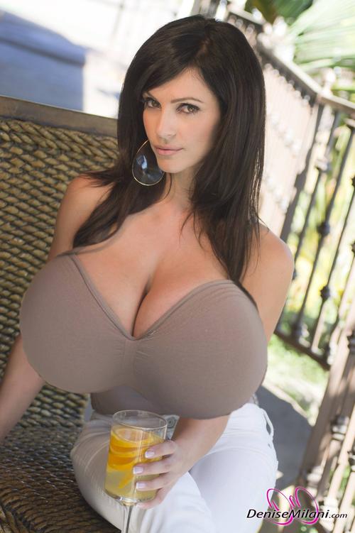Denise Milani Tits Morph Breasts