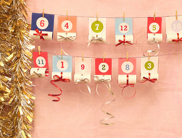 Christmas Advent Calendar for Kids | Kids Craft | Scoop.it