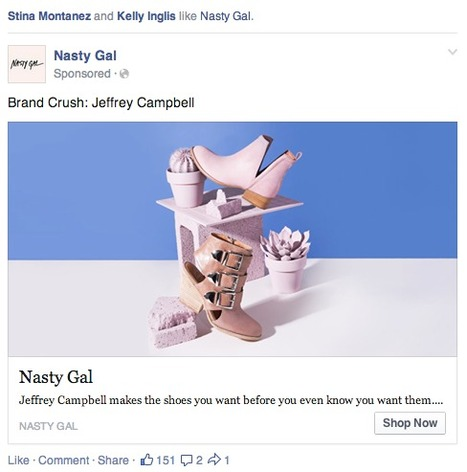 Most Effective Facebook Ads (And What You Can Learn From Them) | Soldsie | Social Shopping, Retail & Ecommerce Trends | Scoop.it