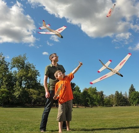 Folding-Wing Glider: Rockets Up ... Glides Down! | Printer-3D software | Scoop.it