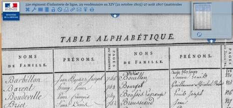 Retrouver un ancêtre militaire dans les registres matricules de la garde impériale de l'infanterie de ligne | Généalogie facile | Nos Racines | Scoop.it