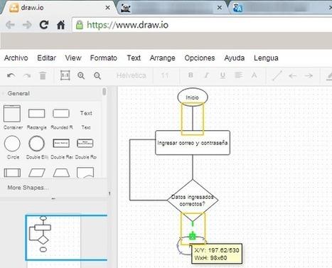 Como crear un diagrama online   Calidad   Scoop.it