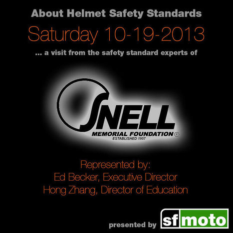 About the Snell Memorial Foundation | SF Moto Blog | Moto Riding Gear | Scoop.it