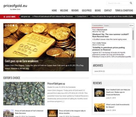 Price of Gold - Your source of news on Gold | price of gold | Scoop.it