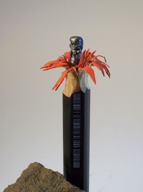 The Impossible-Looking Pencil Sculptures of Cerkahegyzo | Share Some Love Today | Scoop.it
