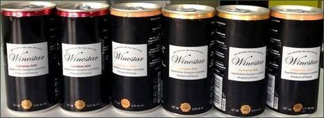 Le vin en canettes disponible en France ! - Atelier Terroir | Du vin en canette? | Scoop.it