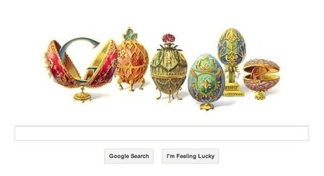 Peter Carl Faberge's birthday marked by Google doodle - NDTVGadgets.com | Entrepreneurship, Innovation | Scoop.it