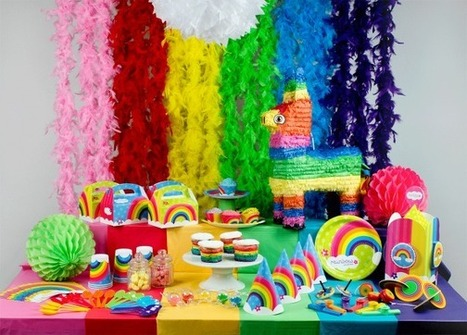 Sweet Table Rainbow Party | Annikids, le blog | Mes trucs de fête | Scoop.it