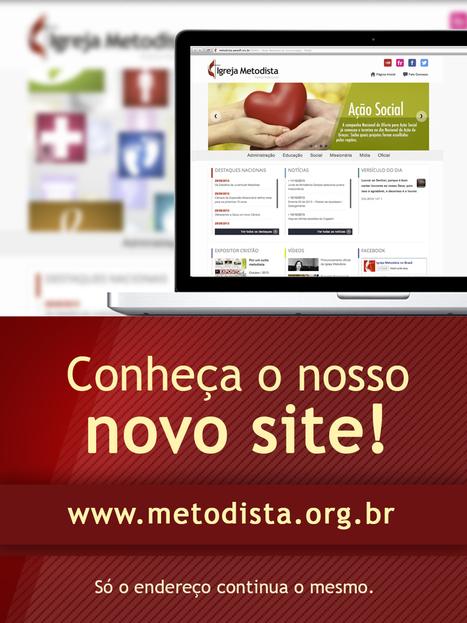 Novo portal da Rede Metodista de Comunicação está no ar | Metodismo no mundo | Scoop.it