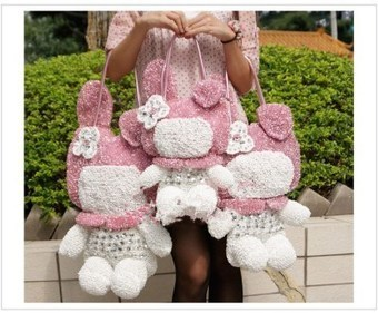 Anteprima My Melody Bags Rhinestone Fashion For Women | Amazing Hello Kitty Bags | Scoop.it