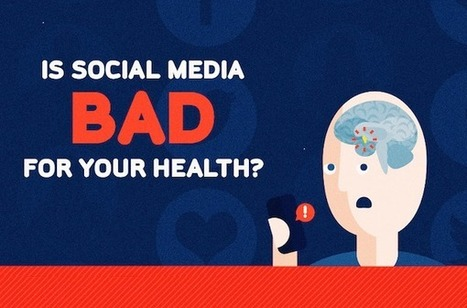 Is Social Media Bad For Your Health? [INFOGRAPHIC] - AllTwitter | Salud Publica | Scoop.it