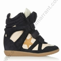 Discounted With Good Quality GTRID-105J Isabel Marant Bayley Wedge Sneakers In Navy | sneakerisabelmarrant.com | Scoop.it