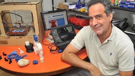 Un cordobés está detrás de la primera impresora 3D nacional | Ciencia y Tecnología Iberoamericana | Scoop.it
