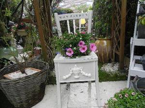 Une seconde vie pour une chaise jardinière élégante sur le #coindesbricoleurs | Best of coin des bricoleurs | Scoop.it