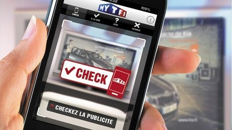 TF1 en pince pour le check-in publicitaire | Tout le marketing | Scoop.it