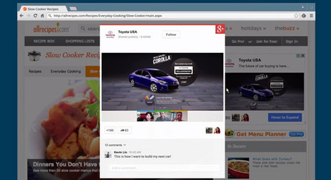 Google's +Post ads bring full social networking to sales pitches (video) | Google + Applications | Scoop.it