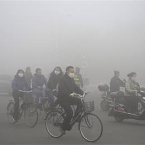 China smog emergency shuts city of 11 million people | Sustain Our Earth | Scoop.it
