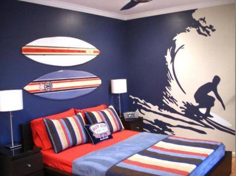 Cómo decorar una habitación para un chico adolescente. | Mil ideas de Decoración | selene | Scoop.it