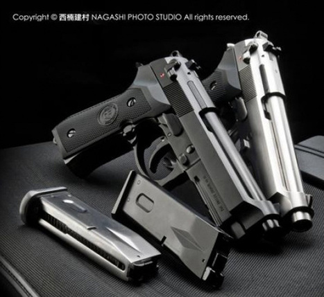 WE M9A1 & M92 GBBs At CWI Airsoft | Popular Airsoft | Airsoft Showoffs | Scoop.it