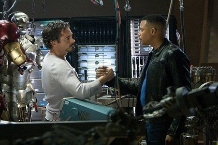 Terrence Howard accuse Robert Downey Jr pour son remplacement dans Iron Man 2   En coulisses   Scoop.it