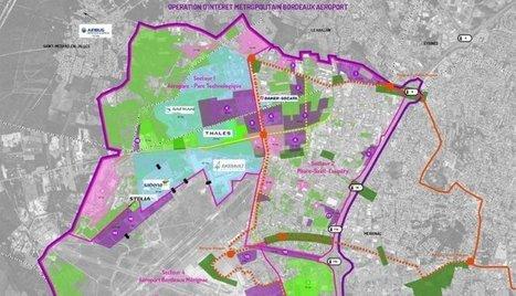 Bordeaux : la Métropole veut créer 10 000 emplois autour de l'aéroport | Les grands projets de Bordeaux Métropole | Scoop.it