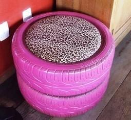 Creare un puff da dei pneumatici | Soloena82 | Scoop.it