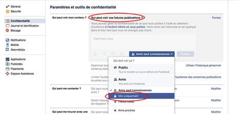 Vie privée sur Facebook: comment être invisible en 15 étapes | Internet, Veille, Stratégie | Scoop.it