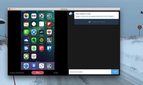 Unicorns. Partager l'écran de votre iPhone - Les Outils Collaboratifs | Les outils du Web 2.0 | Scoop.it