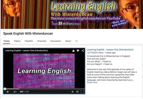 3 chaines Youtube pour l'apprentissage de l'anglais | Education-andrah | Scoop.it