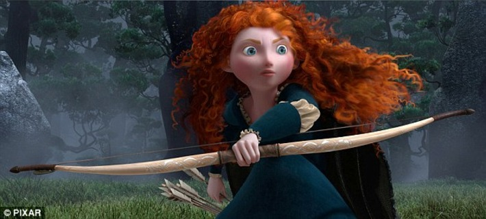 Pixar's new animated movie Brave stars an archery-loving Scottish Princess Merida | Machinimania | Scoop.it