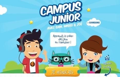 Apprendre le code en ligne gratuitement avec Scratch via la plateforme en ligne Campus Junior   Education aux médias_ numérique   Scoop.it