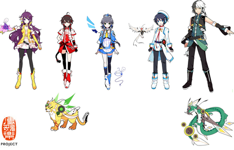 CHINA PROJECT: Luo Tianyi y sus amigos [Info] | Noticias Vocaloid | Scoop.it