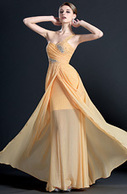 [USD 154.89] eDressit One Shoulder Pleated Evening Dress (00121910) | edressit collection | Scoop.it