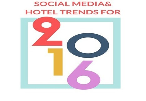 New Hip Hotel and Social Media Trends for 2016 | Social Media Coaching for Hotels | Scoop.it