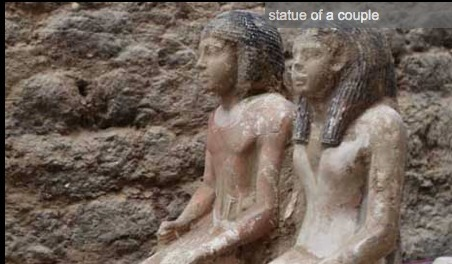 Statues of 5th dynasty top officials discovered in Abusir | Égypt-actus | Scoop.it
