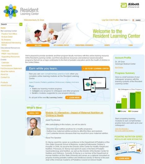 Abbott Nutrition Resident Learning Center Takes On Gamification | E-santé, communication santé & éducation du patient | Scoop.it