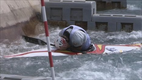 BBC Sport - Spain's Ander Elosegi loses his cool after canoe capsize | Canoeing & kayking | Scoop.it