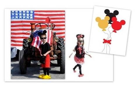 Trucs et astuces pour des déguisements Mickey Minnie faits maison | DIY-Do-It-Yourself | Scoop.it