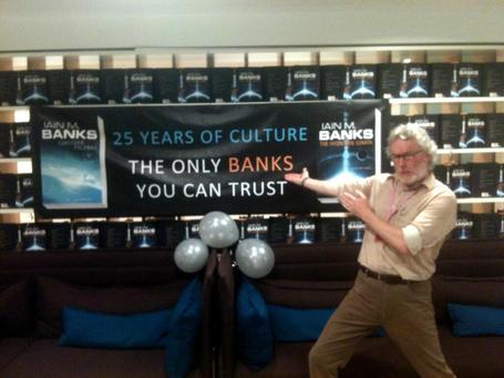 Iain Banks, 1954-2013 | Science Fiction Future | Scoop.it
